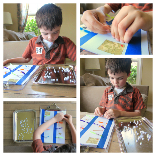 fine motor spelling activity for kindergarten