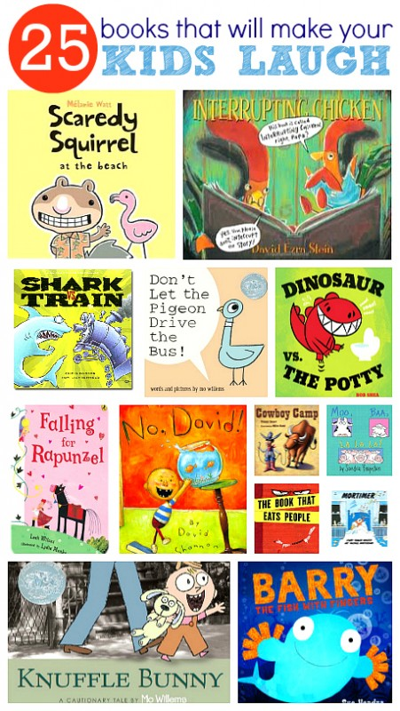 humorous children's books