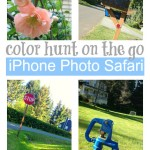 iPhone Photo Safari {Color Hunt}