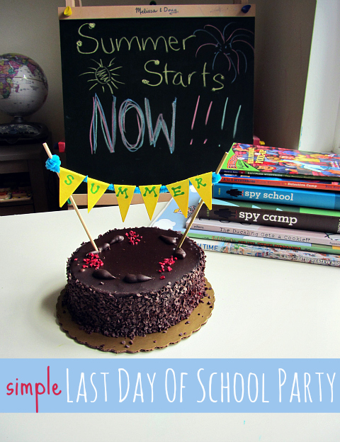 last day of school party