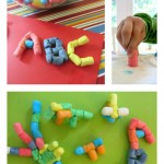 magic nuudles - simple summer crafts