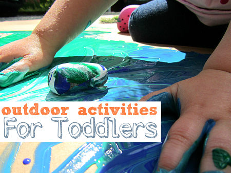 outside activities for kids
