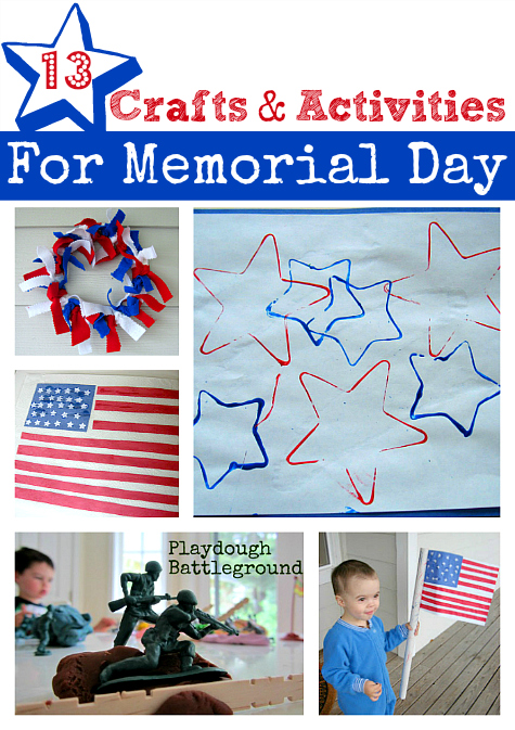 13 Patriotic Crafts For Kids No Time For Flash Cards