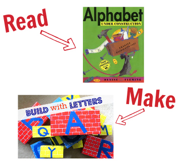 activity for alphabet under construction