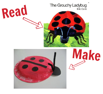craft for the grouchy ladybug