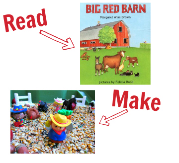 activities for the big red barn book