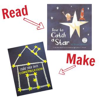 how to catch a star book and craft
