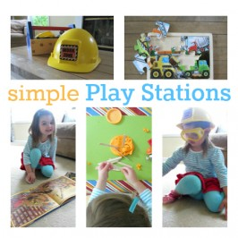 Simple Play Stations For Busy Days