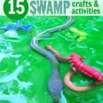 15 Swamp Craft & Activity Ideas