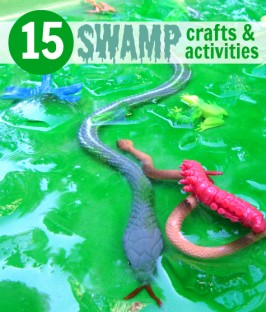 swamp theme for daycare and preschool