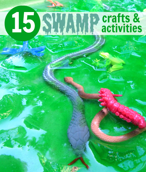 15 Swamp Craft Activity Ideas No Time For Flash Cards