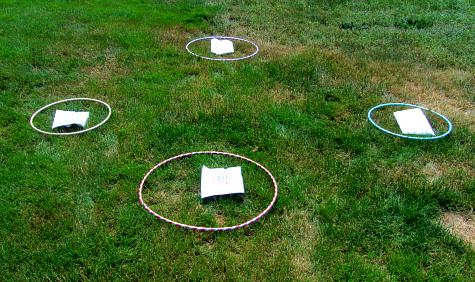 water balloon math activity for kids