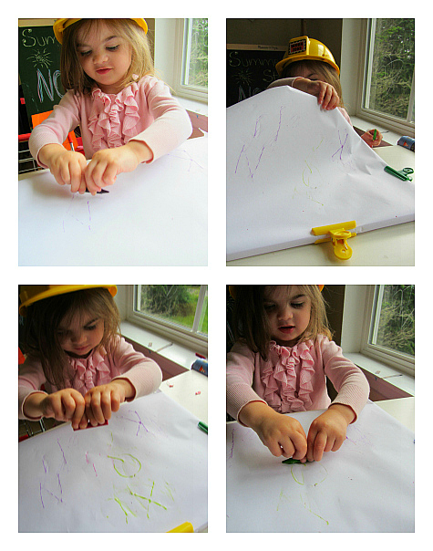 DIY Letter Tracing Board