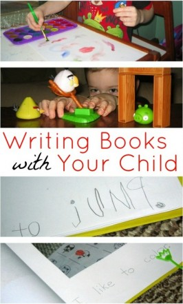 Writing Books With Your Child { Guest Post}
