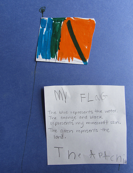mae your own flag and learn about the american flag