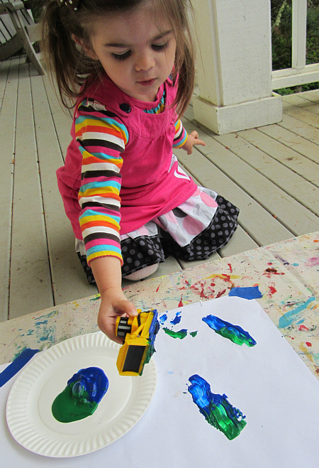 truck painting and stamping