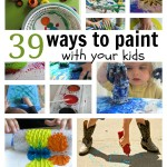 39 Painting Activities For Kids