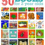 50 Books For 2 Year Olds
