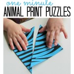 Animal Print Puzzles