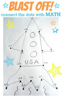 connect the dots with math space activity