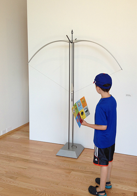exploring art museums with kids