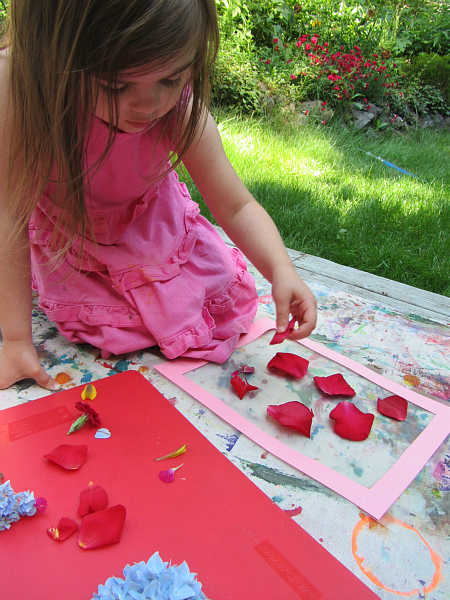 flower place mat for kids