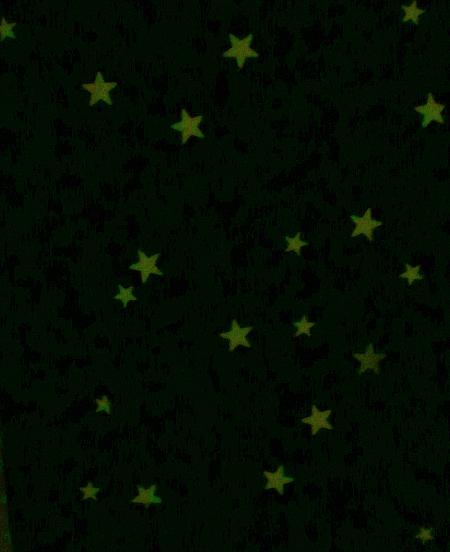 glow in the dark stary sky paintings