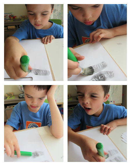 paint and read learning to read activity for kids