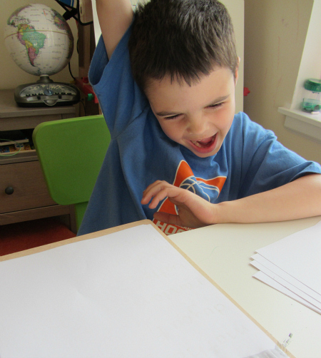 paint and read learning to read activity for kindergarten