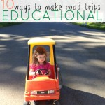 Make Family Road Trips Educational