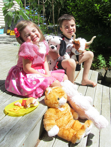 shrinky dink animal picnic
