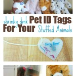 Shrinky Dink Pet ID Tags { For Stuffed Animals }