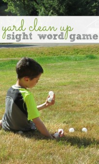 sight word gross motor game for kids