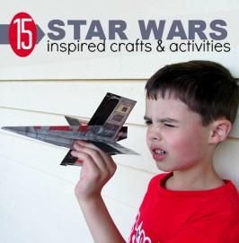 15 Star Wars Inspired Crafts & Activities