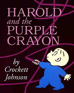 circle time lesson for harold and the purple crayon