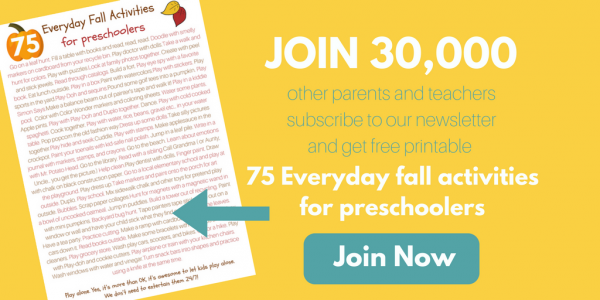 75 everyday fall activities for preschoolers