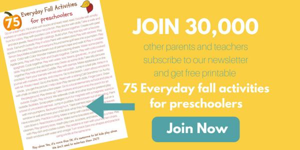 75 everyday fall activities for preschoolers