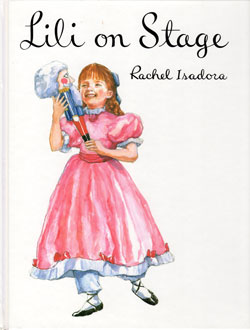ballet books for kids lili on stage