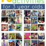 75 Everyday Activities For 3 Year Olds