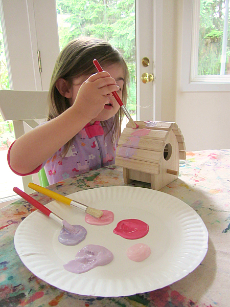 easy birdhouse fairy house craft