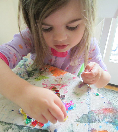 easy fairy house art project