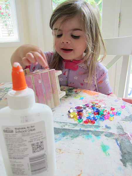 easy fairy house craft for parties