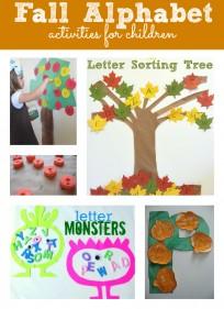 fall alphabet activities for kids