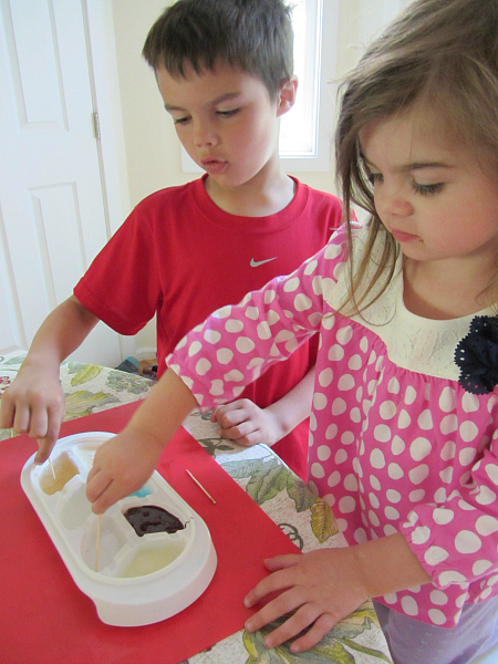 kitchen science activity for kids