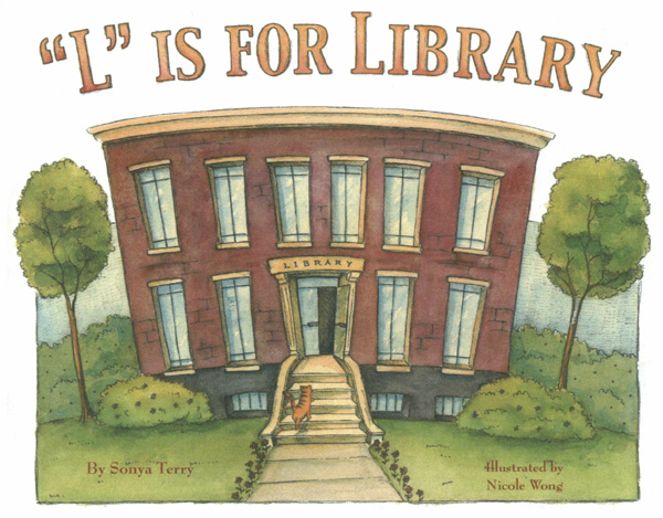 l is for library
