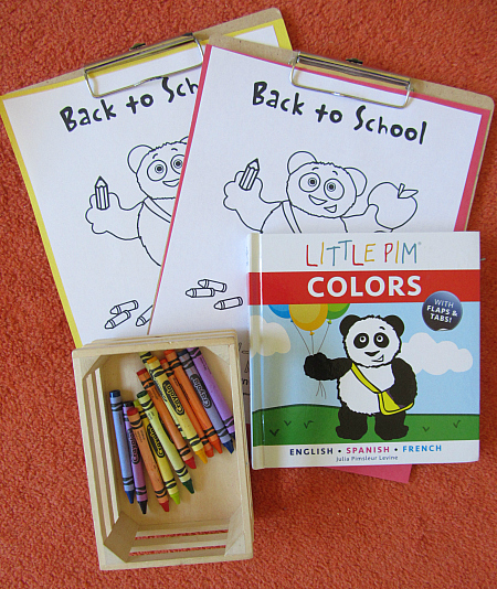 little pim activity supplies