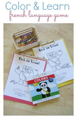 little pim language game with colors book by little pim