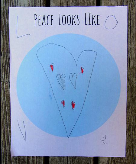 peace looks like love