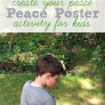 Peace Sign Activity For Kids