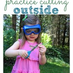 Nature Cuttings – Outdoor Scissor Skills Activity